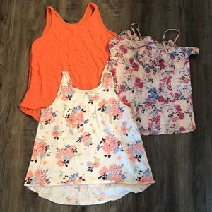 Girls Old Navy XL tank tops